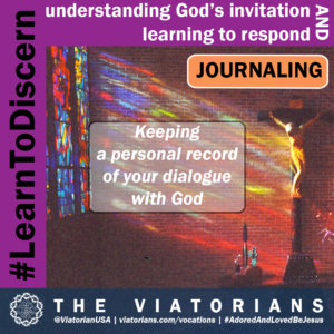12.03.19 – #LearnToDiscern 3j Journaling I
