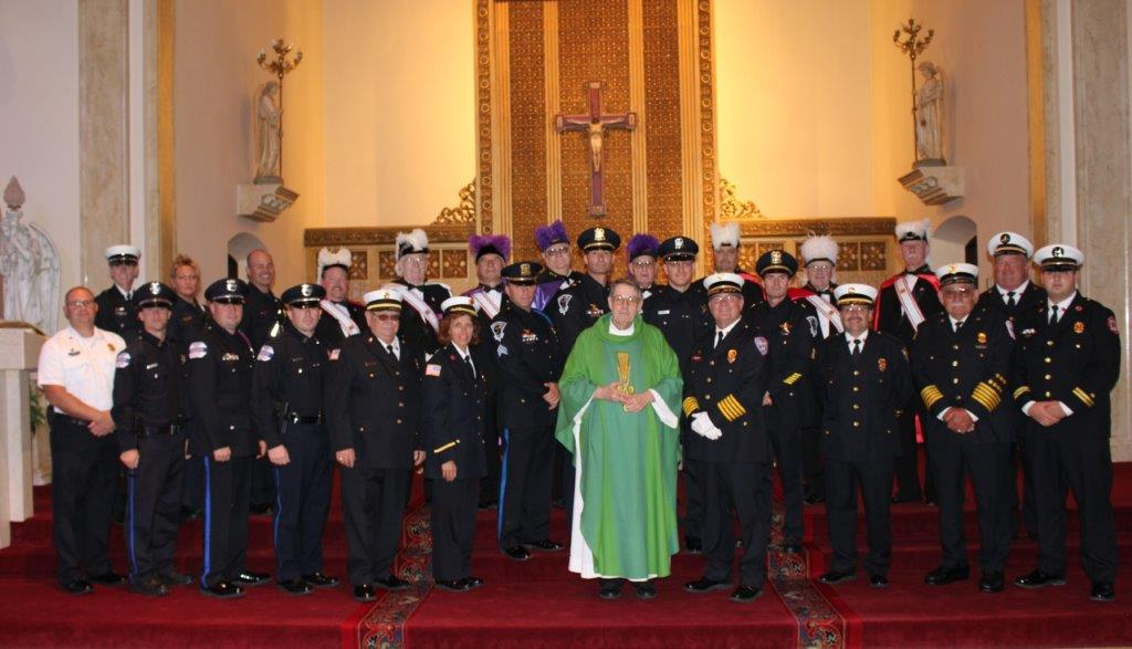 Blue Mass Resumes on 20th Anniversary of 9/11